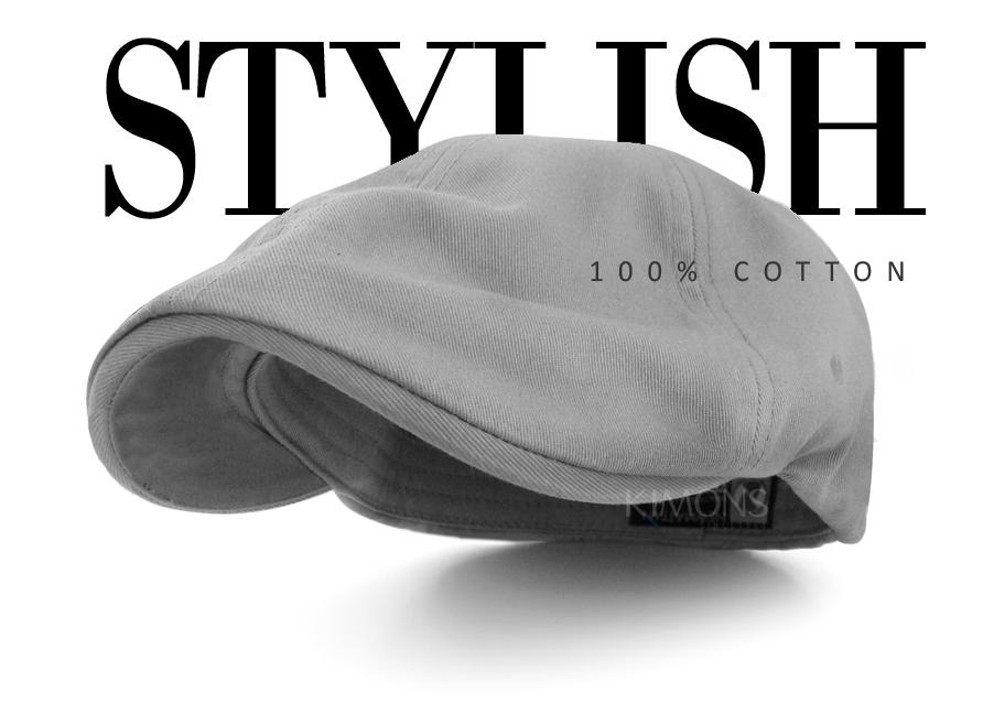 Newsboy Cotton Gatsby Cap Mens Ivy Hat Golf Driving Summer Sun Flat ... 10e2f095c1c