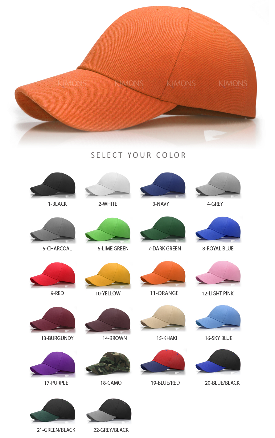 velcro baseball hats