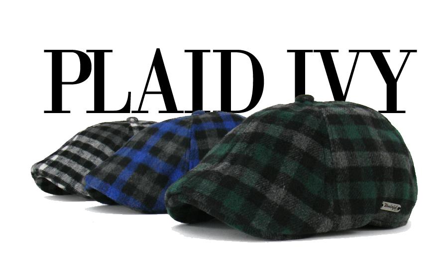 c4c7405fd EM Plaid Wool Duckbill Stripe Gatsby Cap Mens Ivy Hat Golf Driving ...