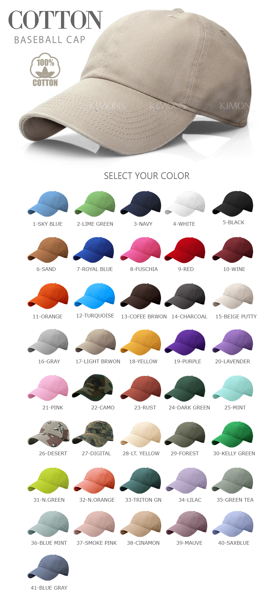 0a565fddcafd9 New Polo Style* Curved Bill Washed 100% Cotton Plain Blank Baseball Caps  Hats